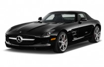 2012 Mercedes-Benz SLS AMG 2-door Coupe SLS AMG Angular Front Exterior View