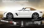 2012 Mercedes-Benz SLS AMG Roadster Online Configurator Goes Live