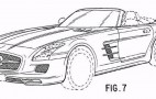 2012 Mercedes-Benz SLS AMG Roadster Revealed In Official Patent Drawings