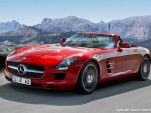2012 Mercedes-Benz SLS AMG Roadster preview rendering