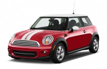 2012 MINI Cooper 2-door Coupe Angular Front Exterior View