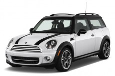 2012 MINI Cooper Clubman 2-door Coupe Angular Front Exterior View