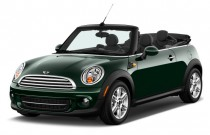 2012 MINI Cooper Convertible 2-door Angular Front Exterior View