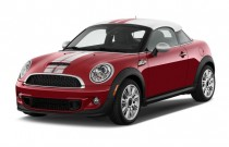 2012 MINI Cooper Coupe 2-door Coupe S Angular Front Exterior View