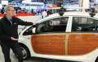 2012 Mitsubishi 'i' Electric Car: Woody Trim And Surfboards Too! (Video)
