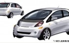 Wider 2012 Mitsubishi i-MiEV For U.S. Market: First Sketch