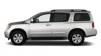2012 Nissan Armada 2WD 4-door SV Side Exterior View