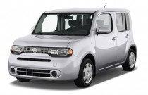2012 Nissan Cube 5dr Wagon I4 CVT 1.8 S Angular Front Exterior View