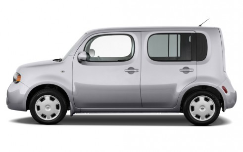 2012 Nissan Cube 5dr Wagon I4 CVT 1.8 S Side Exterior View