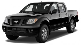 2012 Nissan Frontier 4WD Crew Cab SWB Auto PRO-4X Angular Front Exterior View