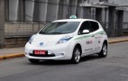 2012 Nissan Leaf Becomes A Taxi In Sao Paulo City 