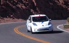 Nissan Leaf Slings Electrons Up Pikes Peak: Video