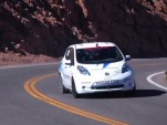 Nissan Leaf at the 2011 Pikes Peak International Hill Climb