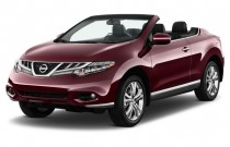 2012 Nissan Murano CrossCabriolet AWD 2-door Convertible Angular Front Exterior View