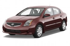2012 Nissan Sentra 4-door Sedan I4 CVT 2.0 S Angular Front Exterior View