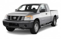 2012 Nissan Titan 2WD King Cab SWB SV Angular Front Exterior View