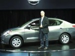 2012 Nissan Versa after debut at 2011 New York Auto Show