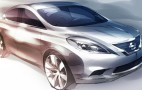 2012 Nissan Versa Sketch Teases Us With LEAF Themes