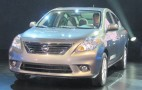 2012 Nissan Versa Sedan: 2011 New York Auto Show Live Photos