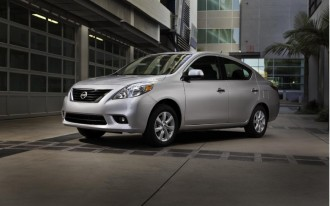 2012 Nissan Versa Sedan Priced At $10,990 And Up