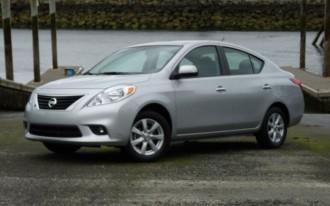 2012 Nissan Versa Sedan: First Drive