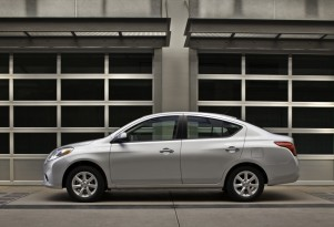 2012 Nissan Versa SedanNot HatchbackNamed A Top Safety Pick