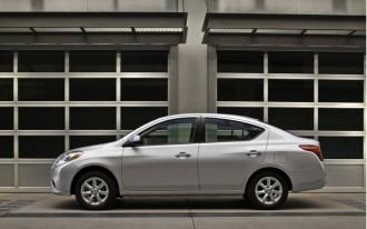 2012 Nissan Versa Sedan—Not Hatchback—Named A Top Safety Pick