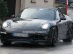 2012 Porsche 911 Cabriolet spy shots