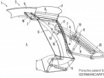 Alleged patent for 2012 Porsche 911 Convertible