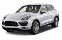 2012 Porsche Cayenne AWD 4-door Turbo Angular Front Exterior View