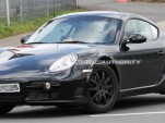 2012 Porsche Cayman test-mule spy shots