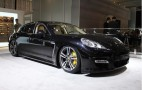2012 Porsche Panamera Turbo S: 2011 New York Auto Show Live Photos