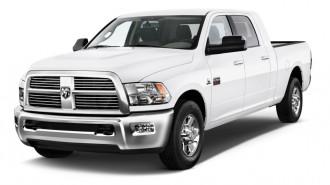 "2012 Ram 2500 2WD Mega Cab 160.5"" SLT Angular Front Exterior View"