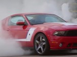 2012 Roush Stage 3 Mustang burnout