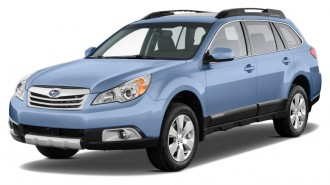 2012 Subaru Outback 4-door Wagon H4 Auto 2.5i Limited Angular Front Exterior View