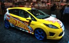 2012 Ford Fiestas By Hot Wheels: 2011 SEMA Live Photos
