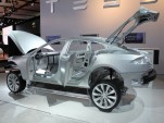 2012 Tesla Model S body-in-white