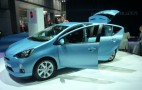 2012 Toyota Prius C Compact Hybrid: 2011 Tokyo Motor Show Debut Live Gallery