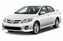 2012 Toyota Corolla 4-door Sedan Auto S (Natl) Angular Front Exterior View