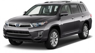 2012 Toyota Highlander Hybrid 4WD 4-door Limited (Natl) Angular Front Exterior View