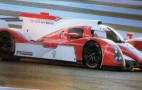 Toyota's 2012 Le Mans Hybrid Race Car Breaks Cover