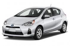 2012 Toyota Prius C 5dr HB Three (Natl) Angular Front Exterior View