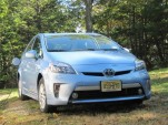 2012 Toyota Prius Plug-In Hybrid, Catskill Mountains, NY, Oct 2012
