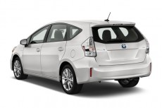 2012 Toyota Prius V 5dr Wagon Five (Natl) Angular Rear Exterior View