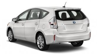 2012 Toyota Prius V 5dr Wagon Five (Natl) Angular Rear Exterior View