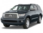 2012 Toyota Sequoia RWD 5.7L Limited (Natl) Angular Front Exterior View