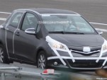 2012 Toyota Yaris three-door spy shots
