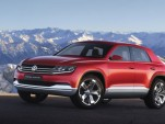 2012 Volkswagen Cross Coupe TDI plug-in hybrid concept