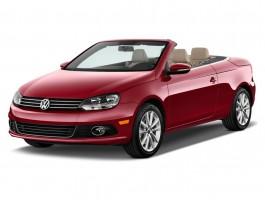 2012 Volkswagen Eos 2-door Convertible Komfort SULEV Angular Front Exterior View
