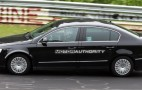 Spy shots: Next-gen VW Passat test-mule hits the 'Ring